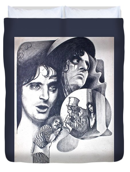 Alice Cooper Duvet Cover