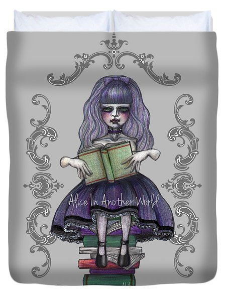 Alice In Another World 2 Duvet Cover