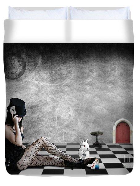 Alice Is Kinky Duvet Cover
