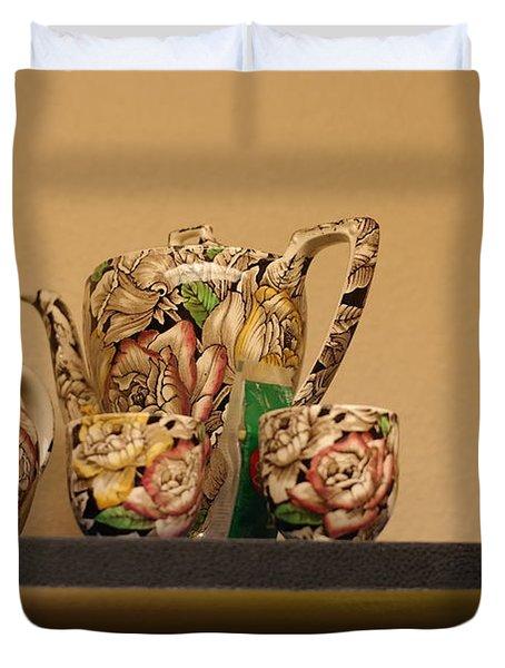 Alice's Tea Party Duvet Cover