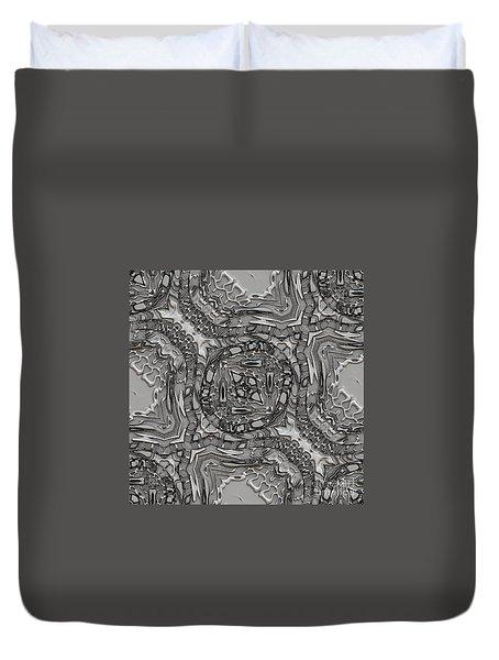 Alien Building Materials Duvet Cover by Craig Walters