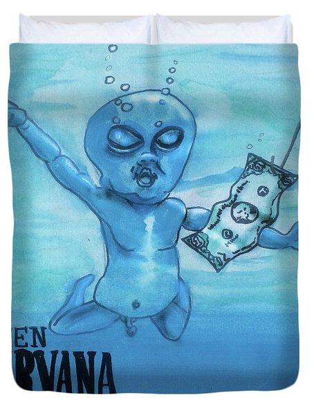 Alien Nevermind Duvet Cover