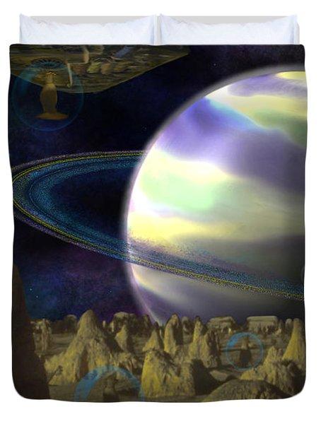 Alien Repose Duvet Cover