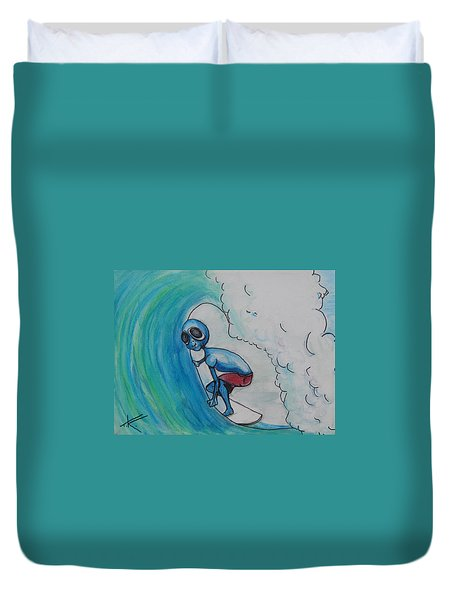 Alien Tube Duvet Cover