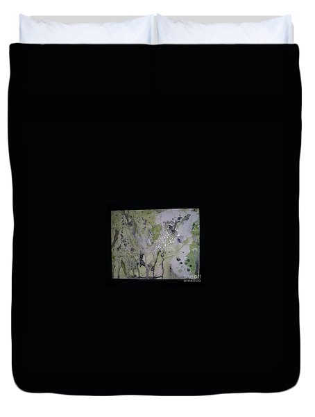 Aliens, Wild Horses, Sharks And Skeletons  Duvet Cover by Talisa Hartley