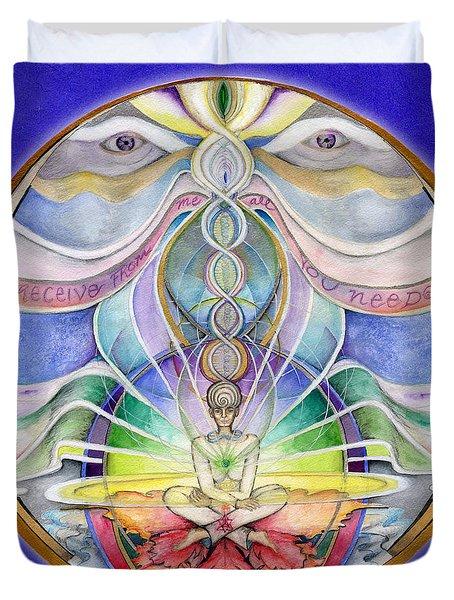 Alignment Mandala Duvet Cover
