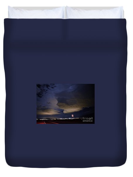 Alive Past 55 Duvet Cover