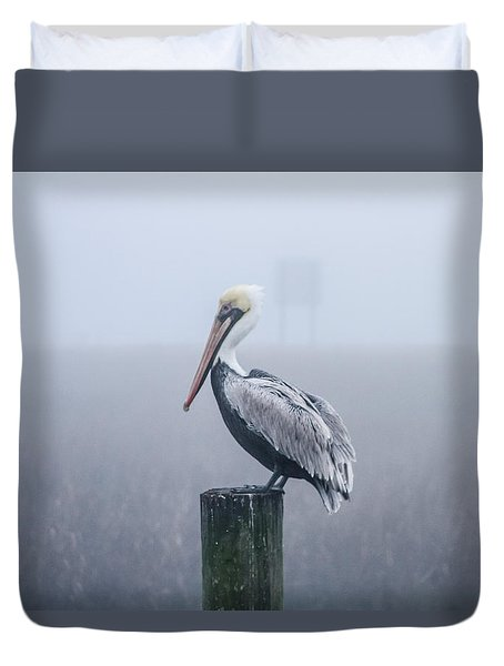 All Alone Duvet Cover