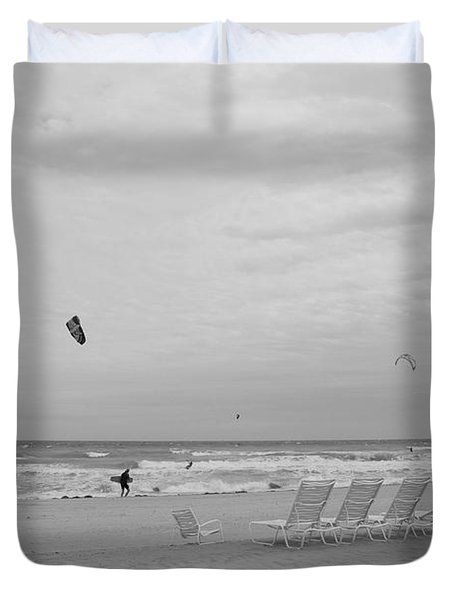 All Alone Duvet Cover by Rob Hans