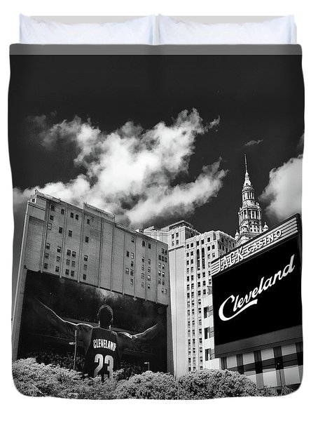 All In Cleveland Duvet Cover