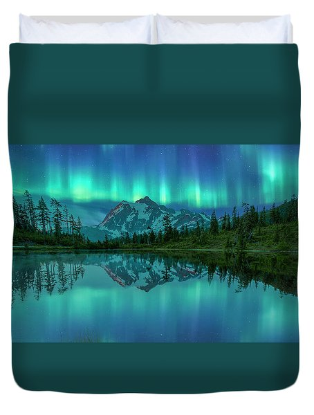 All In My Mind Duvet Cover by Jon Glaser