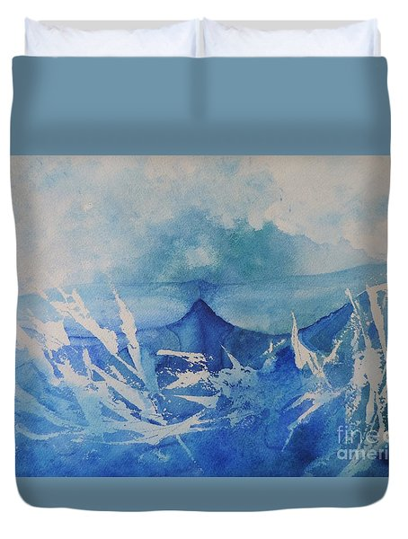All Is Whale Duvet Cover
