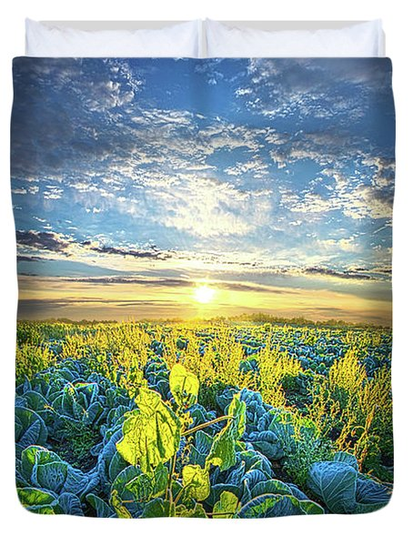 All Joined As One Duvet Cover by Phil Koch