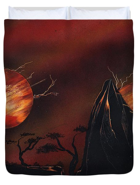All Out Duvet Cover