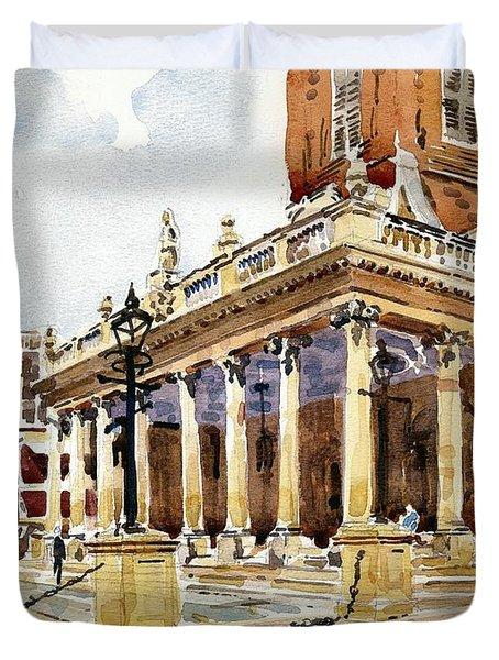 All Saints Church Northampton Duvet Cover