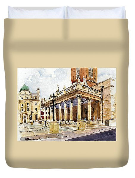 All Saints Church Northampton Duvet Cover