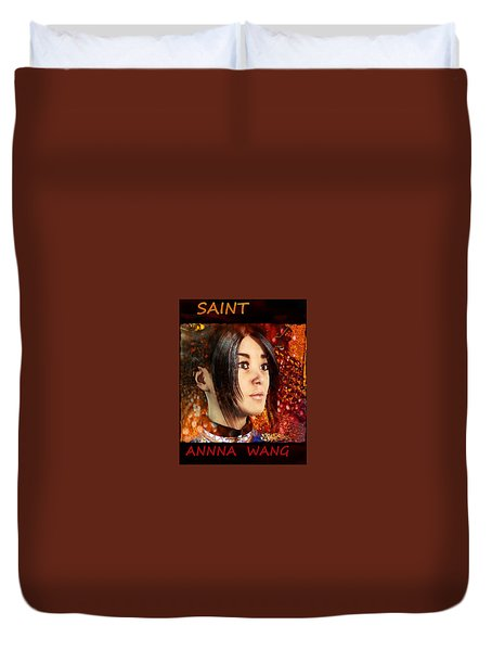 All Souls Day Saint Anna Wang Duvet Cover by Suzanne Silvir