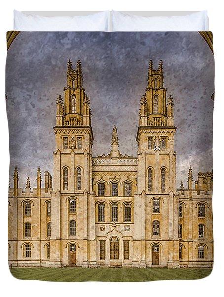 Oxford, England - All Soul's Duvet Cover