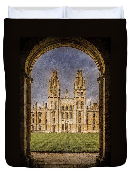 Oxford, England - All Soul's Duvet Cover