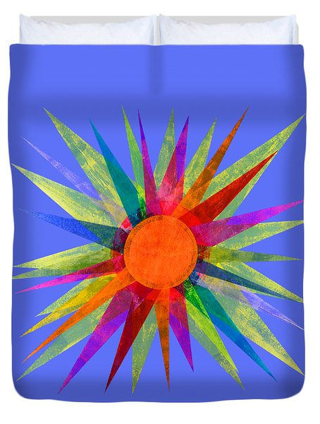 All The Colors In The Sun Duvet Cover