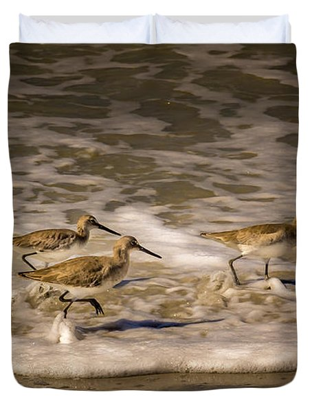 All Together Now Duvet Cover by Marvin Spates