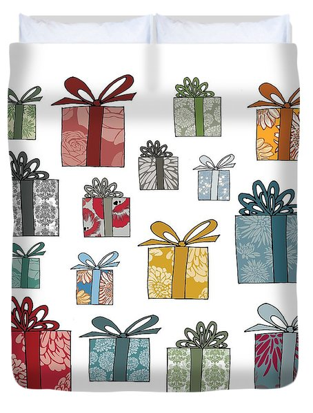 All Wrapped Up Duvet Cover