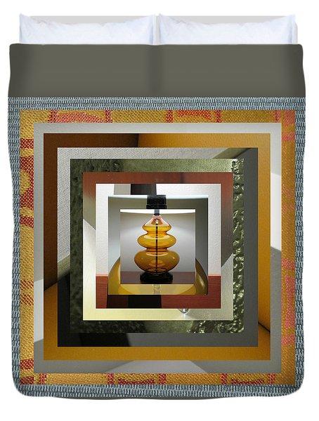 Alladin's Lamp Duvet Cover