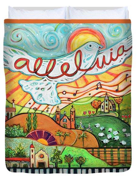 Alleluia Duvet Cover