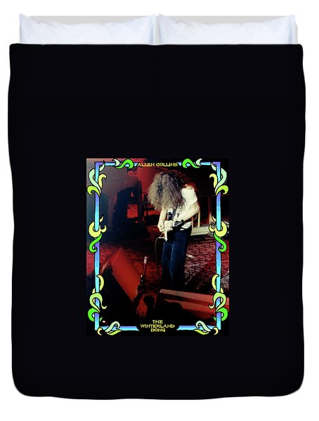 Duvet Cover featuring the photograph A C Winterland Bong 4 by Ben Upham