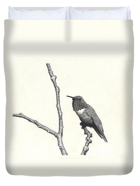 Allen's Hummingbird Duvet Cover