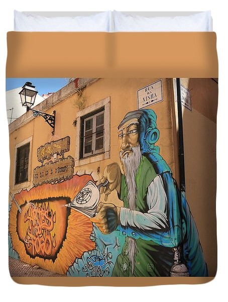 Alley Alchemy Duvet Cover