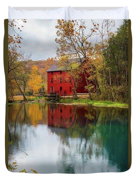 Alley Mill Autumn Duvet Cover by Jennifer White