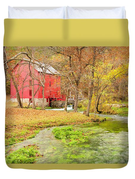 Alley Spring Duvet Cover