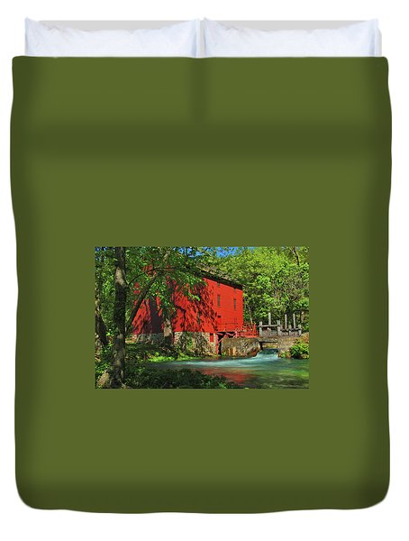 Alley Spring Mill Duvet Cover