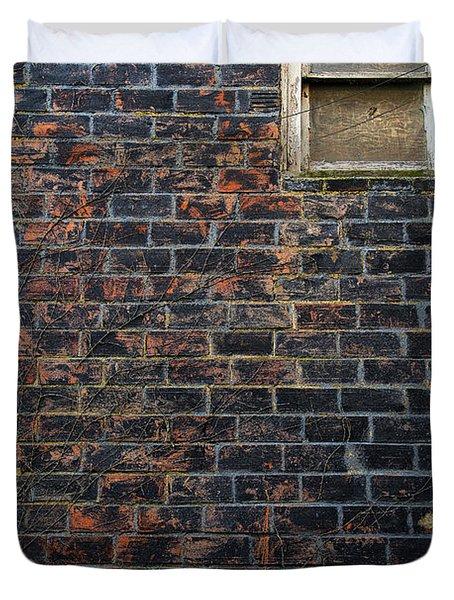 Alley Window Duvet Cover