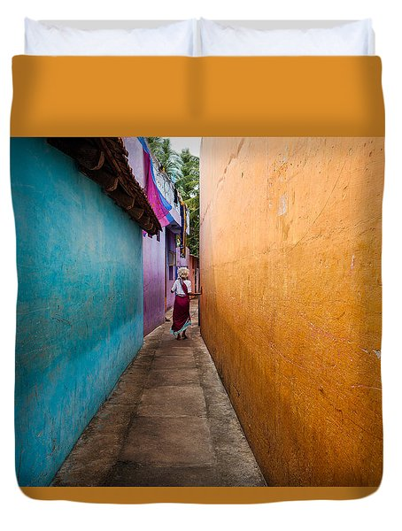Alleyway Duvet Cover