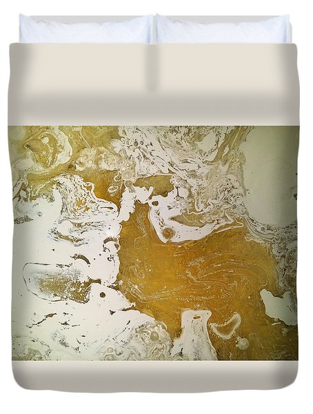 Alligator Head Amber Backflip Duvet Cover