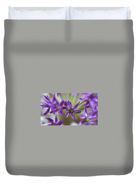 Allium Aflatunense Duvet Cover
