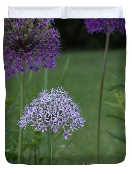 Allium Duvet Cover