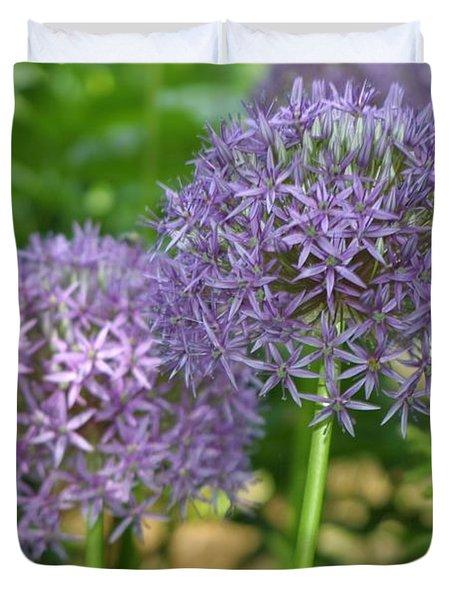 Allium Duvet Cover