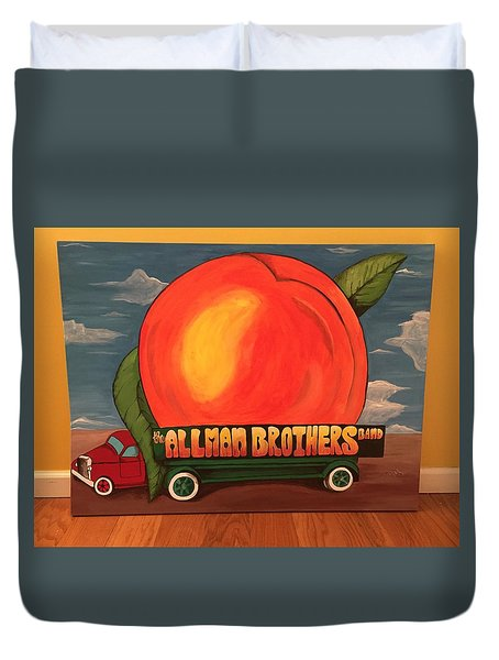 Allman Brothers Eat A Peach Duvet Cover