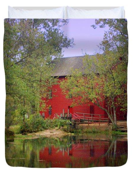 Allsy Sprng Mill 2 Duvet Cover by Marty Koch
