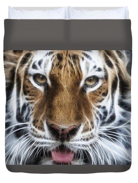 Alluring Tiger Duvet Cover