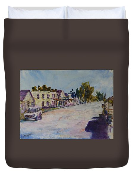 Almont  Duvet Cover by Helen Campbell