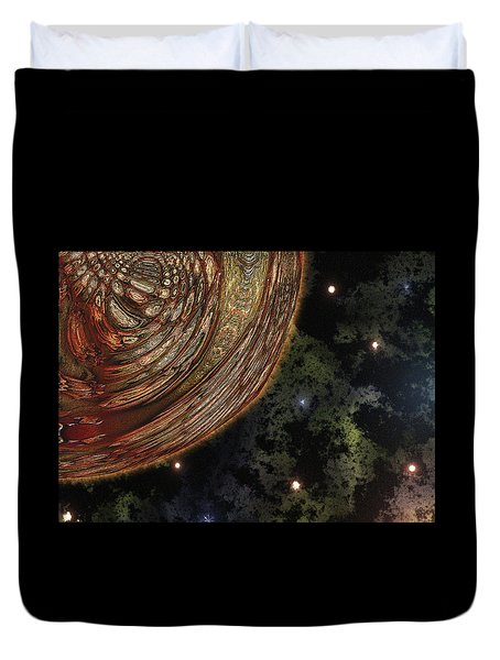 Almost Cosmos Duvet Cover