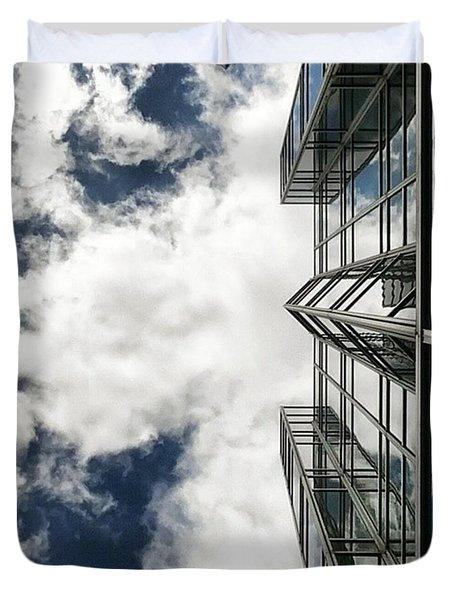 Urban Cloudscape Duvet Cover