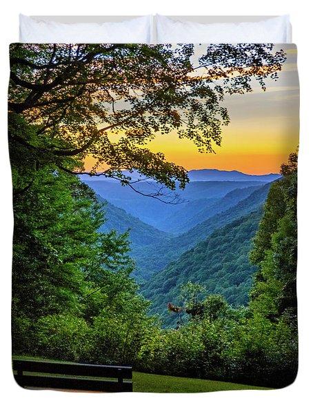 Almost Heaven - West Virginia 3 Duvet Cover