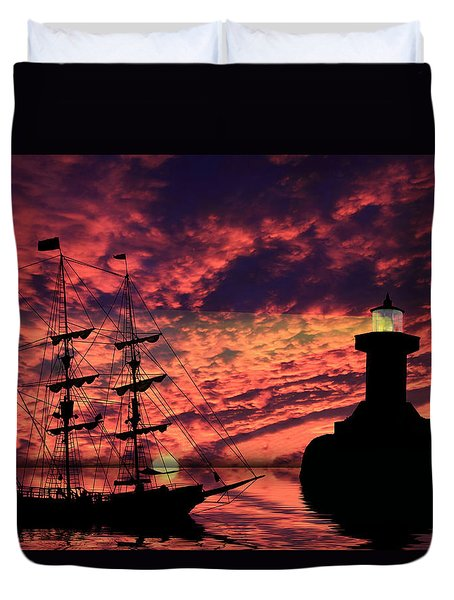 Almost Home Duvet Cover by Shane Bechler