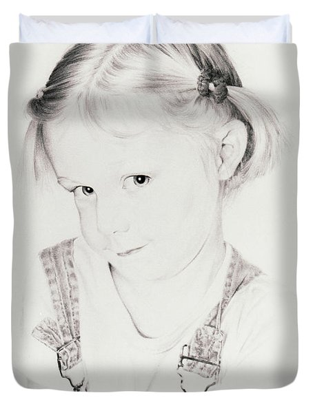Almost Perfect Duvet Cover by Rachel Christine Nowicki
