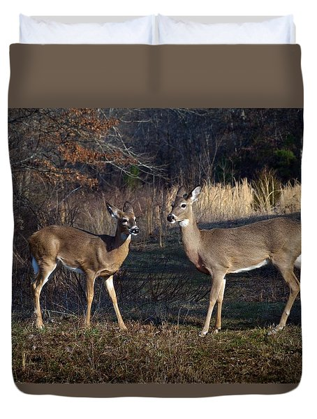 Almost Spring Duvet Cover by Bill Stephens